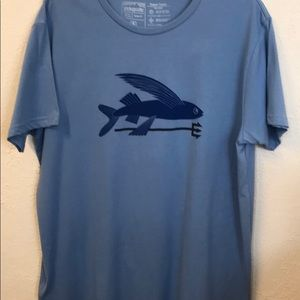 Patagonia Men's Flying Fish Organic T-Shirt